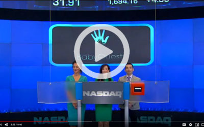 Baby Quest rings the NASDAQ opening bell