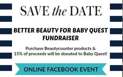 BeautyCounter Fundraiser, March 2017