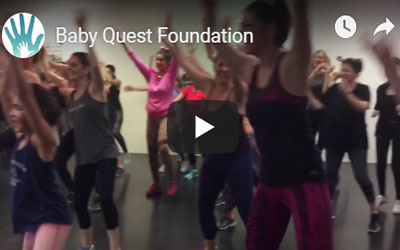"""Baby Quest's """"Dance It Out"""" with Rae Toledo February 2017"""